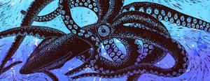 Giant Squid by sandersblack