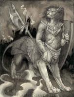 chakat war by Bluari
