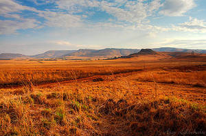 The Drakensburg 1 by Ajay-L