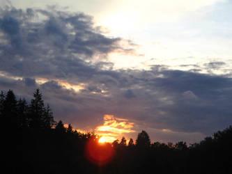 Sunset ... by honeysunshinetw