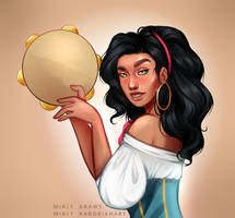 Esmeralda by MialyDraws