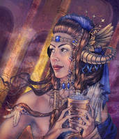 Ishtar by Girre