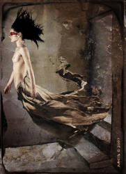 Through II - The LeafWoman by mirkomkb