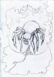 Ungaliant (sketch) by Vacius