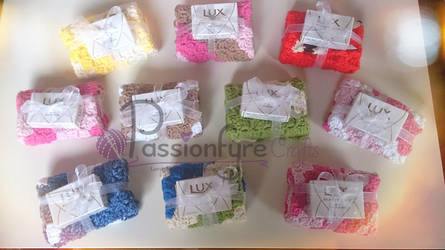 crochet Washcloth Giftsets by passionfyre