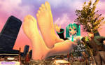 Live In Concert: Giantess Miku by GenMarshall