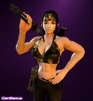 Connie Marshall: Commando by GenMarshall