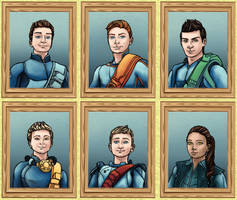 The Family Portraits by LenleG