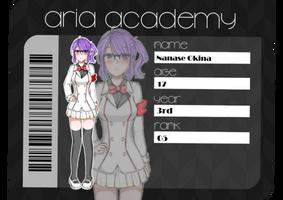 Aria Academy    Nanase Okina by Okina1120
