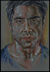 The great Javier Bardem by Lovely-Bacar