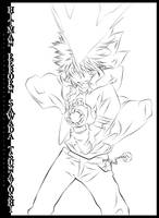 KHR Tsuna hyper mode 2 by bleach-hunter