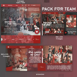 pack for team's. by DiamondBy000