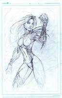 Witchblade W.I.P. by MetaWorks