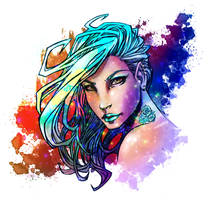 Blue colors by MetaWorks