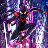 Miles Morales Spider-Man by MetaWorks
