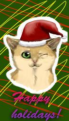 happy holidays! by lunarflower11
