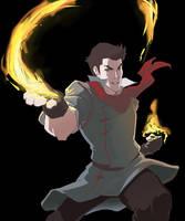 Avatar: TLoK : Mako WiP by Aleana