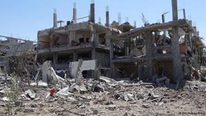 broken  building by loozer786