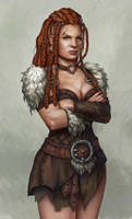 Aliks the barbarian by Lucy-Lisett