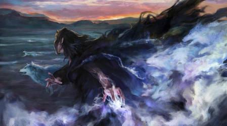 Wolf Shaman by Lucy-Lisett