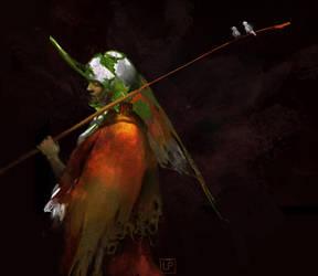 Birdy girl by Lucy-Lisett