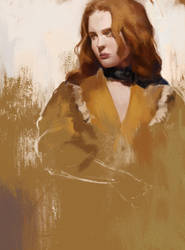 Girl sketch6 by Lucy-Lisett