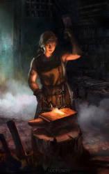 Blacksmith by Lucy-Lisett