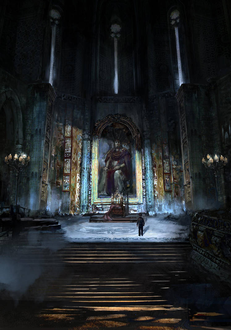 Cathedral by Lucy-Lisett