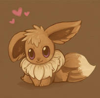 Eevee Speedpaint by Pace-Eterna