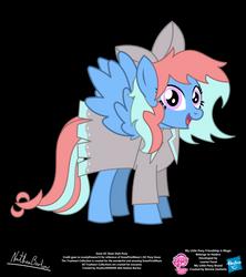 Snow OC Show Style Pony by StryKariSPEEDER