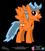 Cool Breeze OC Show Style Pony by StryKariSPEEDER