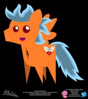 Cool Breeze OC Pointy Pony by StryKariSPEEDER