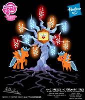 Cool Breeze OC Harmony Tree Poster by StryKariSPEEDER