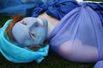 Aquarius Airbrushing by RikkuGrape