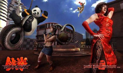 Tekken Inspired #4 by RikkuGrape