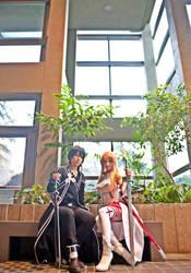 Asuna, Kirito Preview! by RikkuGrape