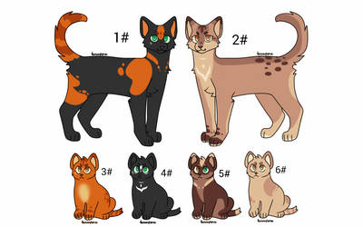 Adoptables !!! (open) by Nizumifangs