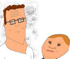 Hank Hill Seduces a Bobby by HankPropaniac57