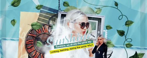 Sunshine - Sinagture by oblivion-designss