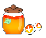 [F2U] Honey Pot Donation Box Pixel by BumbleeBun