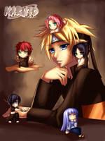 Naruto + Chibis by Senra