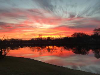 December Sunset by Westfield3D