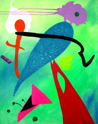 Untitled Painting 2009 2 by wappyness
