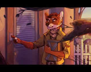 Courier by DeadRussianSoul