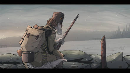 Farewell of Slav borzoi by DeadRussianSoul