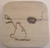 Chibi Totoro by akicafe