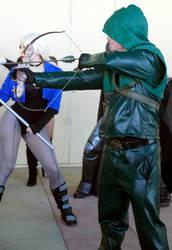 Winter Con 2016 - Black Canary - Green Arrow 2 by kamau123