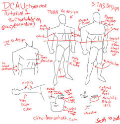 DCAU Male Tutorial by cthu