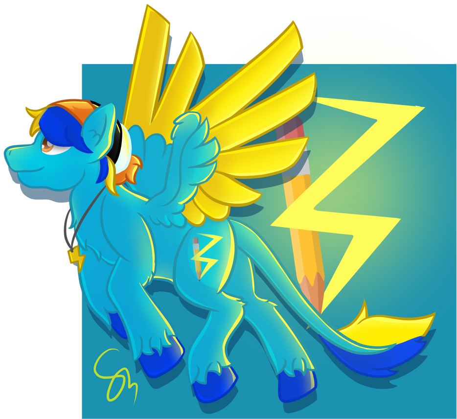 .:Art Trade:. Zap by TheStarryCat