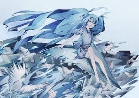 Vocaloid - Sorairo Reminiscence by Zoltruke